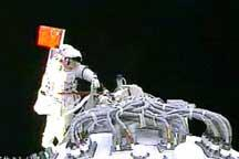2008 China´s maiden spacewalk