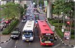 Bangkok-street bridge