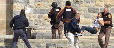 33 killed in Virginia Tech shooting rampage