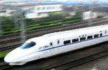 China´s first high-speed train takes the rail, pulls China into high-speed era