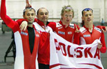 Poland wins gold in men´s team pursuit final of speed skating