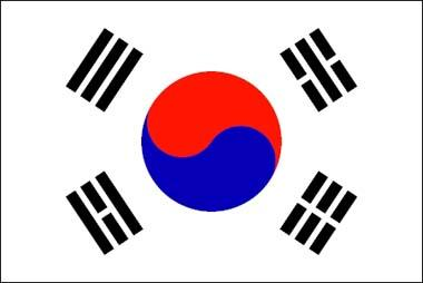 S. Korea Flag