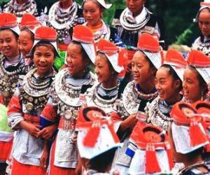 The four-day Sister Festival, dubbed as the ethnic Miao's folk Valentine's Day, features series of folklore fetes.