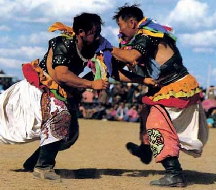 Nadam, which means entertainment or games in Mongolian, is regarded as a great festival.