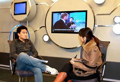 Chi Tung, Anchorman of Tech Max (File photo)