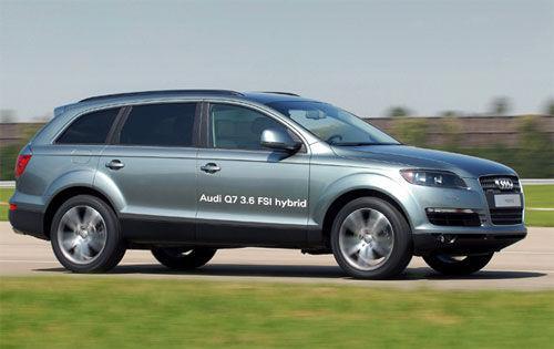 奥迪证实q7混合动力车款将于2008年底推出 高清图片