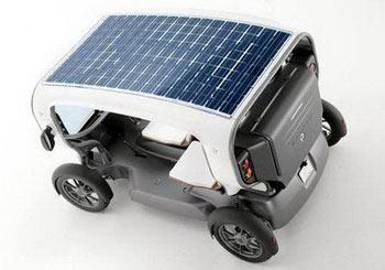 电动车频道 新闻资讯 > 正文      ●太阳能加风能的双动力汽车