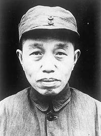 华东野战军副政治委员谭震林