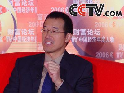 俞敏洪照片_CCTV.com-2006CCTV中国经济年度人物回顾---俞敏洪(一)