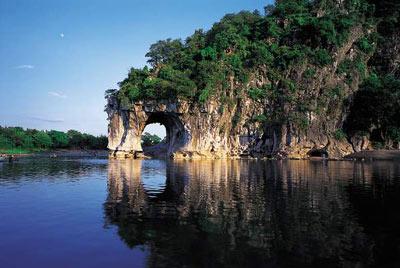 桂林市是世界著名的风景游览城市和历史文化