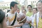 汶川大地震北川的安县桑枣中学学生们