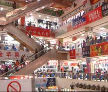 大红门服装商贸城内景