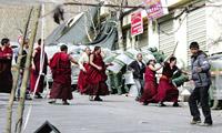 西方媒体报道西藏事件一边倒