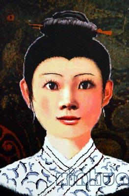 马王堆出土的长沙第一具汉代女尸--西汉中国国丞相利苍之妻辛追的歌曲面相电视剧战神叫什么图片