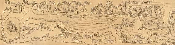 因为它是郑和下西洋的产物,一般简称为《郑和航海图》.