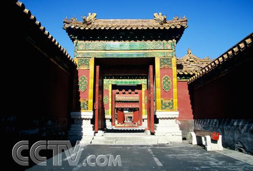 故宫首度开放后宫生活区 抢先看嫔妃们的世界高清图片