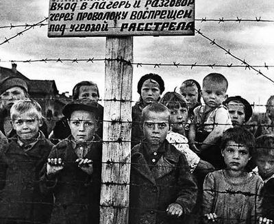 照片解读:纳粹集中营里的儿童