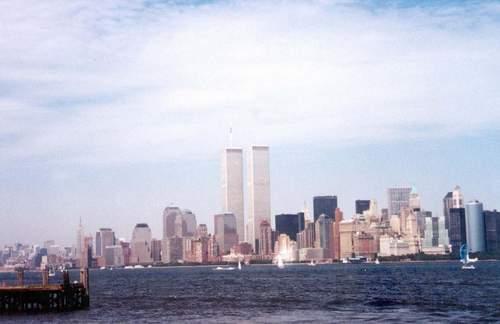 昔日美国世贸大厦;; 美国世贸大厦图片