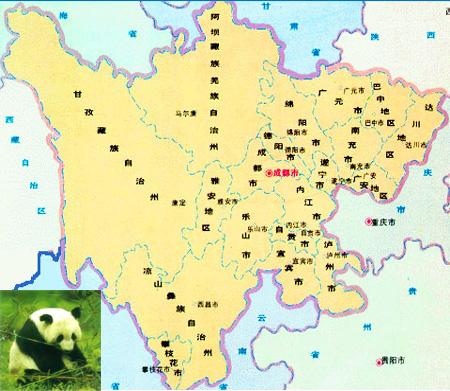 中国河流分布图手绘图
