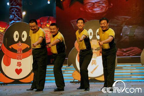 相声演员李晶晶_2008年《红河之春军营大拜年》-CCTV