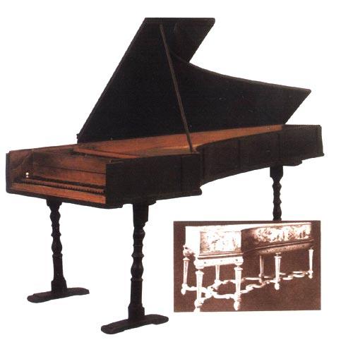 保存最早的巴尔托洛梅奥?克里斯托弗里制作的钢琴图片