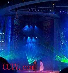 目击2003春节联欢晚会第一次彩排 多图