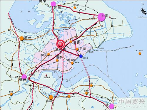 嘉兴乍浦镇地图