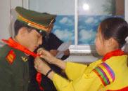 金春明被聘为鲜族中学辅导员