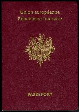 世界各国护照样本图片