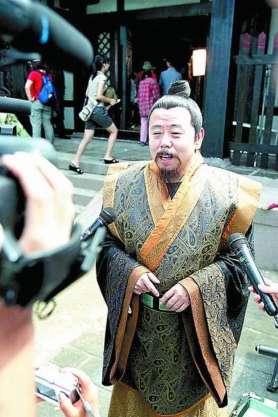 潘长江加盟 少林寺传奇 众演员齐说河南缘