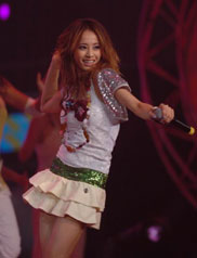 台湾地区年度最受欢迎女歌手MTV票选展播