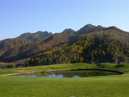 有山有水有宝塔,秋天风景图