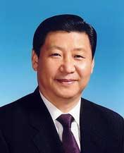 Xi Jinping, vicepresidente de la República Popular China