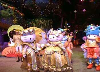 Hello Kitty's Dream Light Fantasy in Beijing