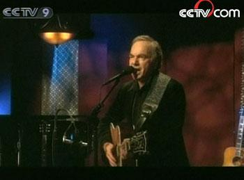"Music legend Neil Diamond says his new album ""Home Before Dark"" is the best and hardest work of his career.(Photo: CCTV.com)"