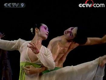 The choreography for the group embraces diverse elements, like the martial arts, ballet and modern dance.(Photo: CCTV.com)