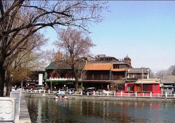OneofthoseisthehistoricalcenterofShichahai,theareathatincludesthethreelakesofHouhai,Qianhai,andXihai...