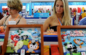 Olympic souvenir stores see sales boom