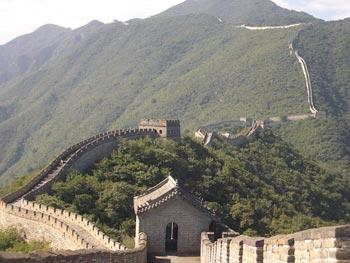Mu Tianyu Great Wall(file photo)