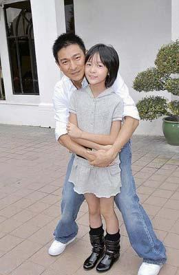 The film's stars, heart throb Andy Lau and Barbie Hsu were at the ceremony.