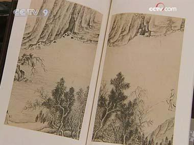 Each calligraphy work comes with the commentaries and seals of its owners.