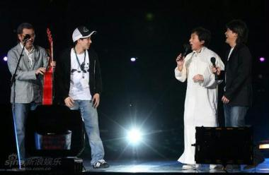 Friday night, as the stadium hosted the Jackie Chan and His Friends Concert in front of a 50,000-strong audience. It was the first major public event since the Games ended more than eight months ago.