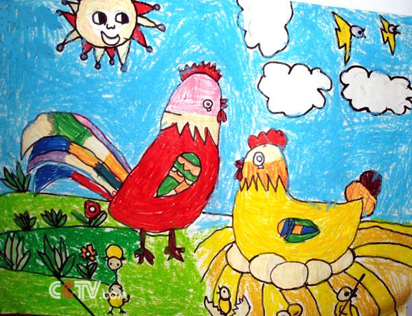 杭州野生动物园儿童画