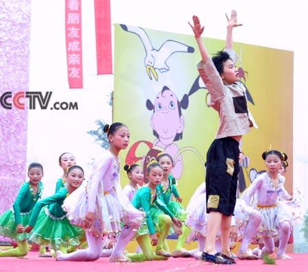 群舞《小萝卜头的梦》 - 毛川 - 清曲琴远 百年艺苑