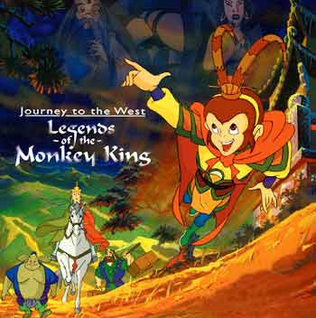 动画片《西游记》描述了孙悟空和他的两个师弟猪八戒