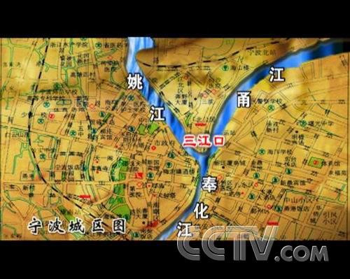 宁波三江口地图