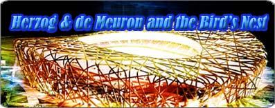 Herzog & de Meuron and the Bird's Nest