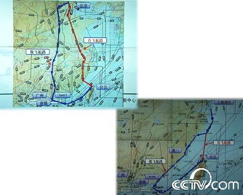 北京广州等地起飞的飞机都必须经过香港绕行,只是不再需要落地转机