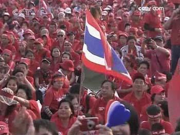 Thaïlande:findelamanifestationdesChemisesRouges