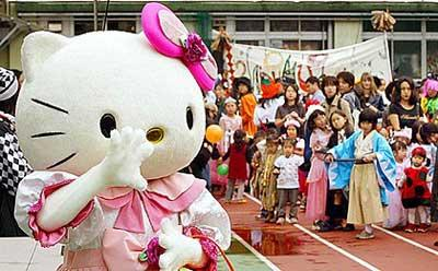 Hello Kitty fête son anniversaire en avance